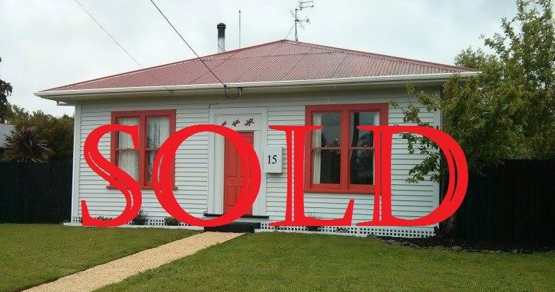 Sold house in New Zealand