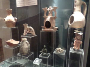Pots Figures at Gozo Museum of Archaeology