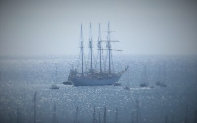 Our JS Elcano Spanish Navy Tall Ship Visit & How We Nearly Missed it!