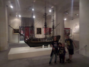 Replica Wooden Sailing Ship malta maritime museum