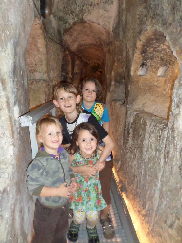 st pauls catacombs malta 4 kids