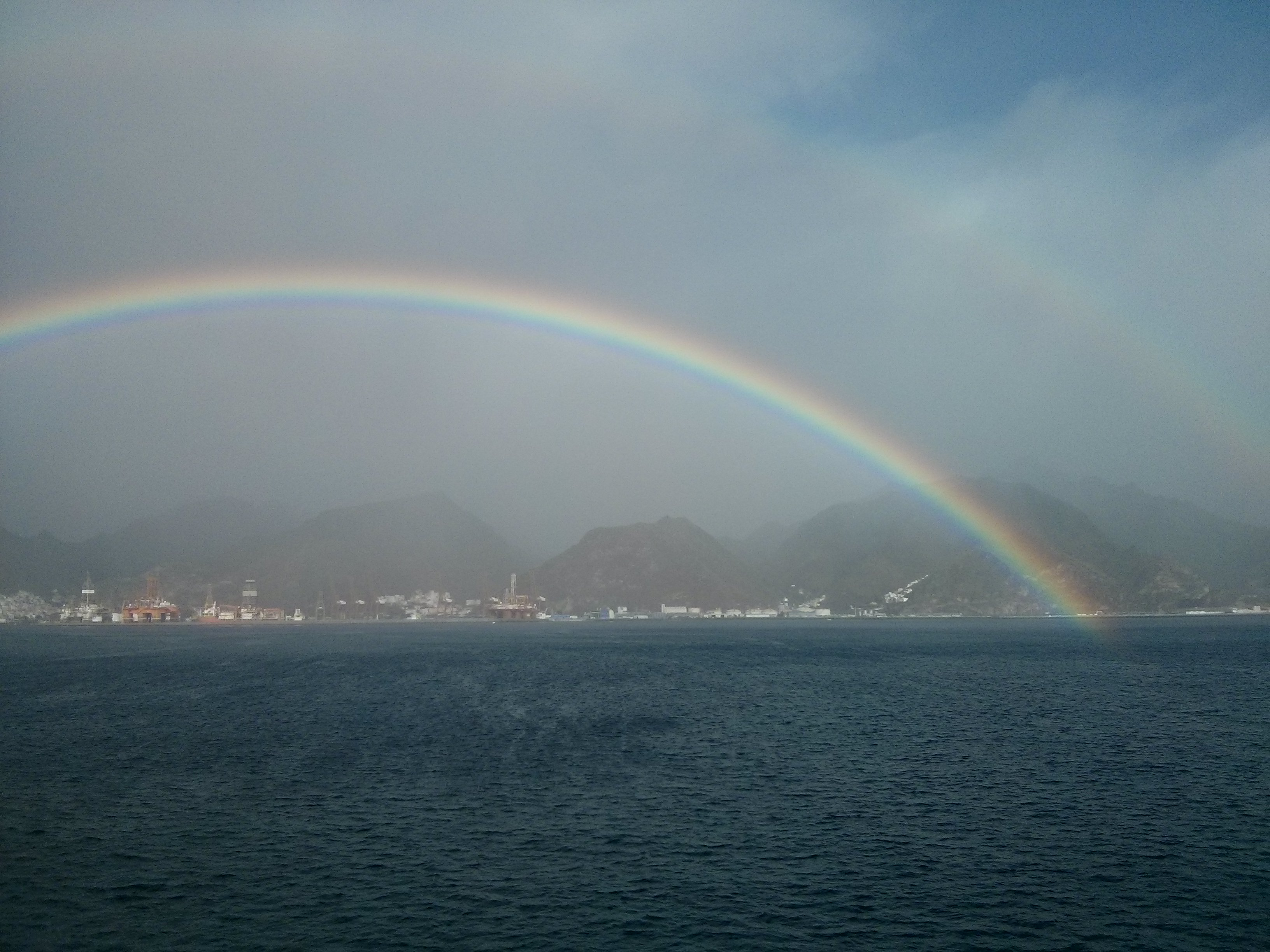 double rainbow santa cruz tenerife