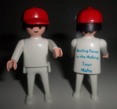 Smiling Faces in the Making Tour PlayMobil Factory Malta