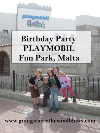 PlayMobil Fun Park Malta Birthday Party Factory Tour
