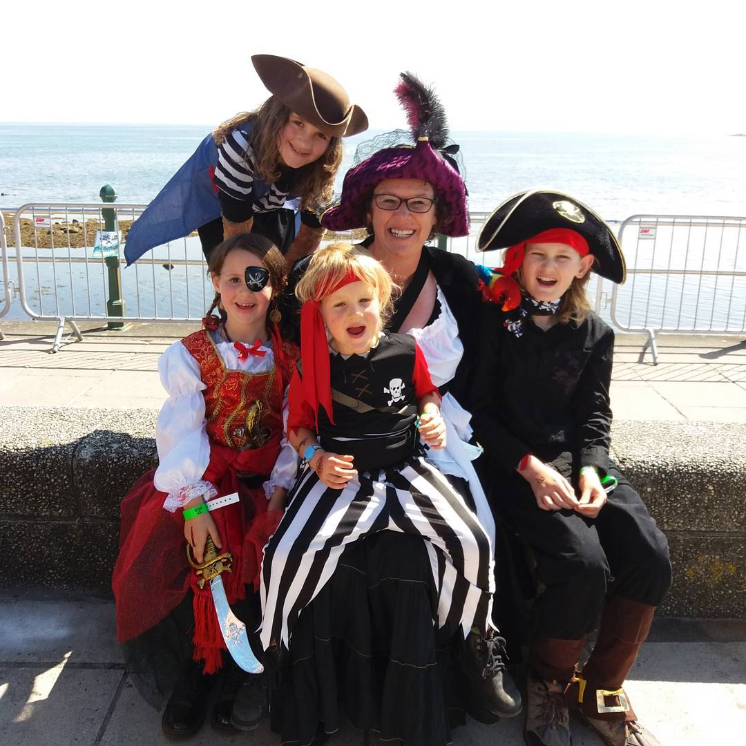 Pirate World Record Attempt Penzance Cornwall