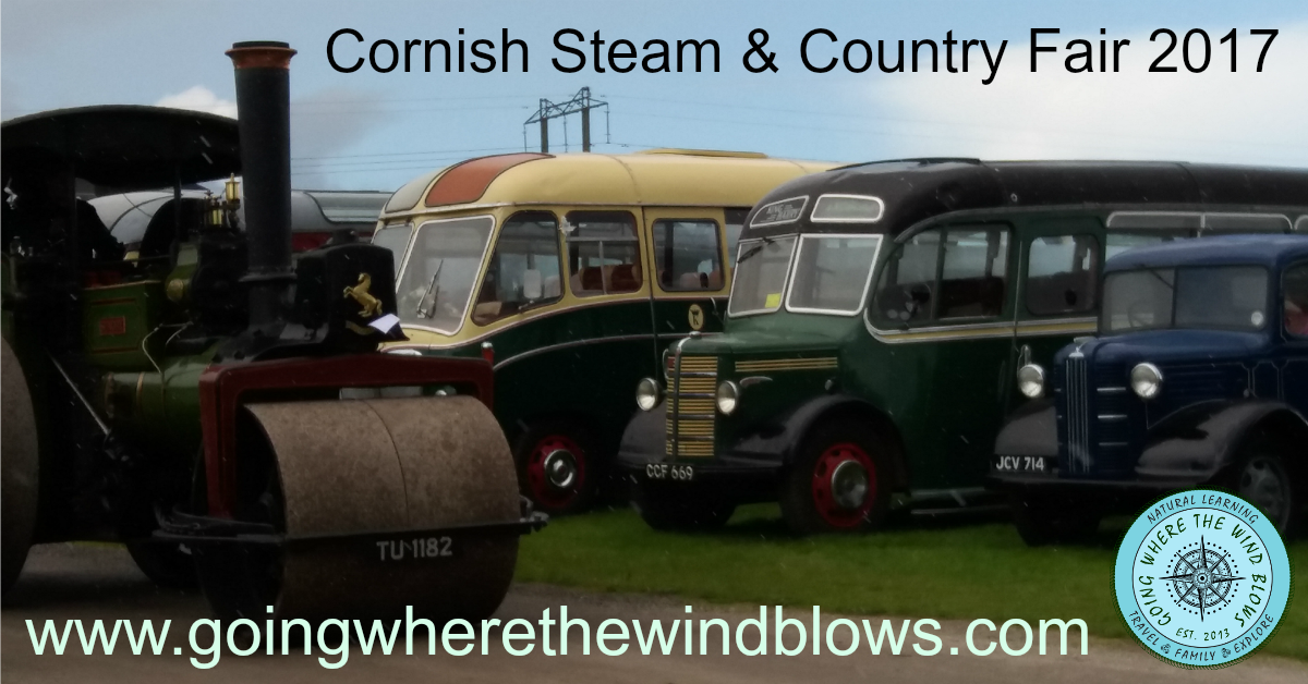 Cornish Steam and Country Fair 2017 St Stithians
