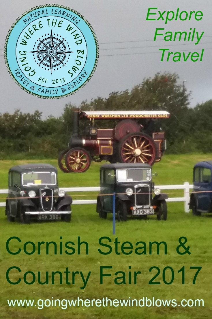 Cornish Steam and Country Fair St Stithians Showground August 2017