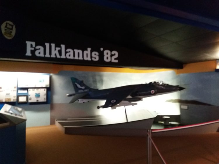 falklands war display flambards theme park
