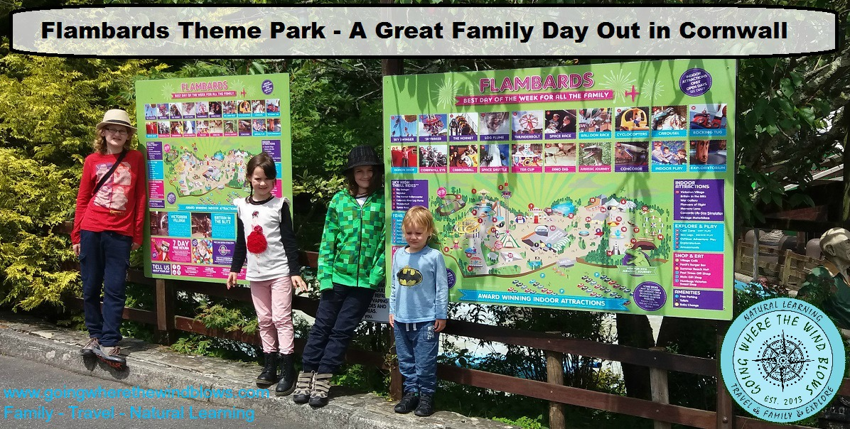 Flambards Theme Park Great Family Fun Day Out with Kids in Cornwall