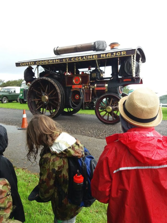 Steam engine at the Cornish Steam and Country Fair St Stithians
